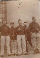 Militaria : Extrait De Carte-photo. : Soldats  : 86é Régt. - Format 9,7cm X 6,6cm - Guerre 1914-18