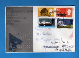 Great Britain FDC: 1966 - TECNOLOGY.   Vedi Descrizione. - FDC