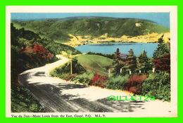GASPÉ, QUEBEC - VUE DE L'EST - MONT LOUIS FRON THE EAST - M. L. - PECO - - Gaspé