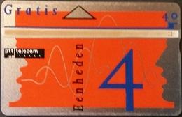 Telefonkarte Niederlande - L&G - Gratis - 4 Units - Werbung - 111B - öffentlich