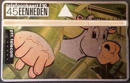 Telefonkarte Niederlande - L&G - 45 Units - Kuh & Melken - 324F - öffentlich