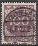 Deutsches Reich    .    Michel    .     268 B        .       O        .      Gebraucht - Deutschland