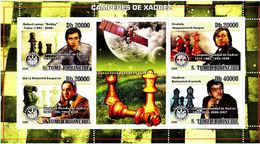 Saint Thomas 2008 Chess Echecs Rotary  MNH - Schaken
