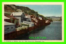LA MALBAIE, QUEBEC - LA COMPORTEE - PHOTO SERVICE CIVI, PHOTOGRAPHIE - CIRCULÉE EN 1943 - - Quebec