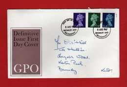 Great Britain FDC: 1967 - DEFINITIVE.   Vedi Descrizione. - FDC