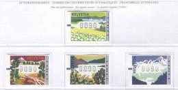 Svizzera - Francobolli Automatici   ATM - Le Stagioni - - ATM - Frama (vignette)