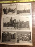 DOCUMENT GUERRE 14/18 AVEC NOS ALLIES RUSSES GENERAL KOUROPATKINE CHEVALIERS CROIX SAINT GEORGES EVERT TSAR NICOLAS 2 - Vieux Papiers