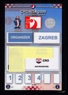 Croatia Zagreb 2009 / 21st Men's World Handball Championship / Accreditation / Organizer - Handball