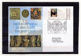 BRD, 2008, Brief (echt Gelaufen) Mit Michel 2592 Und Sonderstempel/Neueröffnung Domschatz Halberstadt - [7] République Fédérale