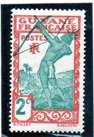 B - 1929 Guyana Fr: - Cacciatore (linguellato) - Neufs