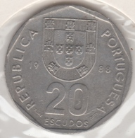 @Y@    Portugal  20 Escudos   1988    (4666) - Portugal