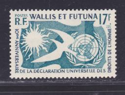 WALLIS ET FUTUNA N°  160 ** MNH Neuf Sans Charnière, TB (D8553) Droits De L'homme - 1962-63 - Wallis-Et-Futuna