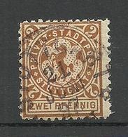 Deutschland 1897 STUTTGART Privater Stadtpost Local City Post Private Post O - Privé