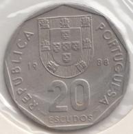@Y@    Portugal  20 Escudos   1988    (4663) - Portugal