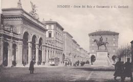 CARTOLINA - POSTCARD - BOLOGNA - ARENA DEL SOLE E MONUMENTO A G. GARIBALDI - Bologna