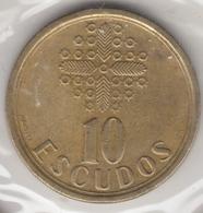 @Y@    Portugal  10 Escudos   1992    (4661) - Portugal