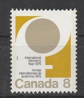 1975. International Women's Year. MLH (*) - 1952-.... Règne D'Elizabeth II