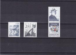 SUEDE 1983  Yvert 1229-1232 NEUF** MNH - Suède