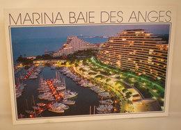 Marina Baie Des Anges   Cartolina Francia - Frankrijk