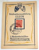 1946 Freimarke Mi 931 Briefmarkenausstellung In Essen Siehe Scan - Gemeinschaftsausgaben