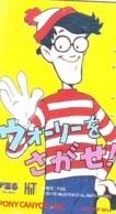 Télécarte Japon - WHERE'S WALLY ? (2) -  COMICS Japan Phonecard Telefonkarte - BD