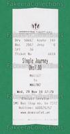 UAE 2018 - SHARJAH Emirate Road Tansport, Used City Bus Ticket - As Scan - Bus