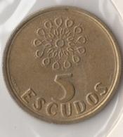 @Y@    Portugal  5  Escudos   1997      (4653) - Portugal