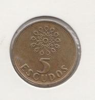 @Y@    Portugal  5  Escudos   1997      (4652) - Portugal