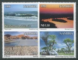 Namibia 1998 Int. Tag Der Umwelt Küste Okawango Bäume 948/51 A Postfrisch - Namibia (1990- ...)
