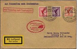 KATAPULTPOST 47c BRIEF, 8.6.1931, Europa - Southampton, Deutsche Seepostaufgabe, Prachtbrief - Briefe U. Dokumente