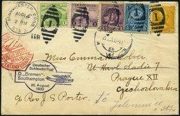KATAPULTPOST 136a BRIEF, 20.8.1933, &quot,Bremen&quot, - Southampton, US-Landpostaufgabe, Brief Feinst - Briefe U. Dokumente