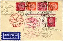 KATAPULTPOST 163c BRIEF, 5.7.1934, Bremen - Southampton, Deutsche Seepostaufgabe, Mit Guter Zusammendruck-Frankatur, U.a - Briefe U. Dokumente
