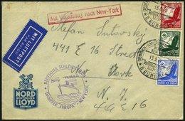 KATAPULTPOST 178b BRIEF, 14.9.1934, &quot,Europa&quot, - New York, Brief Feinst - Briefe U. Dokumente