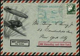 KATAPULTPOST 192b BRIEF, 12.6.1935, &quot,Bremen&quot, - New York, Seepostaufgabe, Prachtbrief - Briefe U. Dokumente