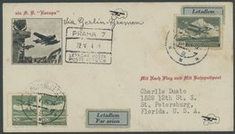 21.5.1934, Sonderumschlag Zum Katapultpost Dampfer Europa Via Berlin-Bremen, Feinst -> Automatically Generated Translati - Briefe U. Dokumente