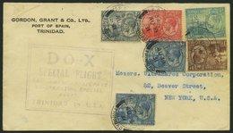 DO-X LUFTPOST 51.TR.e. BRIEF, 19.08.1931, Aufgabe Port Of Spain/Trinidad, Nach Nordamerika, Brief Feinst - Briefe U. Dokumente