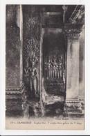CPA CAMBODGE Angkor Vat Tevadas Dans Galerie Du 3e étage - Cambodia