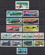 DDR Between 1976 - 1988, Brücken Bridge Brug Pont Puente Ponte **, MNH - Brücken