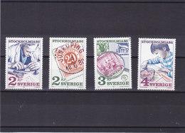 SUEDE 1986 STOCKHOLMIAA 86 Yvert 1357-1360 NEUF** MNH - Suède