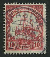 DSWA 26 O, OKASISE Auf 10 Pf. Karminrot, Pracht - Kolonie: Deutsch-Südwestafrika