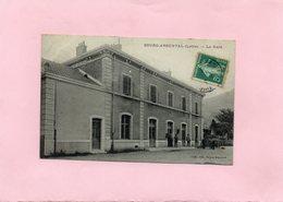 F1602 - BOURG ARGENTAL - 42 - La Gare - Bourg Argental