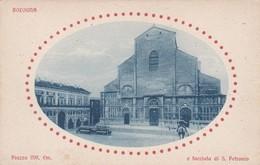CARTOLINA - POSTCARD - BOLOGNA - PIAZZA VITT. EM. E FACCIATADI S. PETRONIO - Bologna