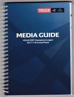 EHF Handball Champions League 2017 / 2018 Group Phase / Media Guide (232 Pages) - Handball