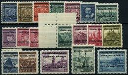 BÖHMEN UND MÄHREN 1-19 **, 1939, Kopfbilder Und Landschaften, Prachtsatz, Gepr. Gilbert, Mi. 120.- - Böhmen Und Mähren