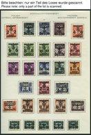 GENERALGOUVERNEMENT *, O, Sammlung Generalgouvernement Von 1939-44, Fast Nur Prachterhaltung - Besetzungen 1938-45