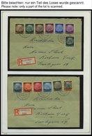 GENERALGOUVERNEMENT O,**,Brief , Kleiner Sammlungsteil Generalgouvernement, Prachterhaltung - Besetzungen 1938-45