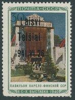 TELSCHEN 22III **, 1941, 30 K Landwirtschaft Mit Plattenfehler XVIII: I941 Statt 1941 (Feld 16), Untere Zahnreihe Unrege - Besetzungen 1938-45