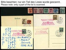 SAMMLUNGEN U. LOTS O,**,*,(*),Brief , Sammlung Bes.Geb. II Im SAFE Album Incl. Böhmen Und Mähren Und Generalgouvernement - Besetzungen 1938-45