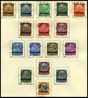 SAMMLUNGEN U. LOTS BrfStk,o , 1940/1, Sammlung Bes.Geb.II Mit Elsaß, Lothringen Und Luxemburg, Fast Nur Zentrisch Gestem - Besetzungen 1938-45