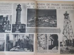 1949 Le Gardien De Phare Du GRIS-NEZ  Blanc Nez Wissant - Vieux Papiers